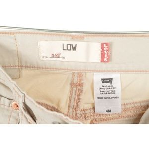 Levi's Jeans - Levi 542 4 x 31 Low Slouch cream off white flare l